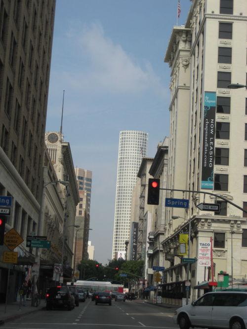 Downtown la street level