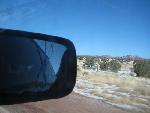 From car window