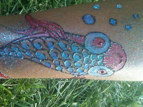 Glitter fish