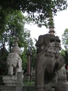 Wenshu_temple_statues